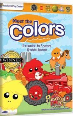 Preschool Prep Meet the Colors DVD | Books, Cds, DVDs