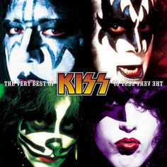 Kiss is an American rock band formed in New York City in January 1973 by Paul Stanley, Gene Simmons, Peter Criss, and Ace Frehley. Kiss Album Covers, Cool Album Covers, Music Covers, Cd Cover, Cover Art, Paul Stanley, Rock Roll, I Love It Loud, My Love