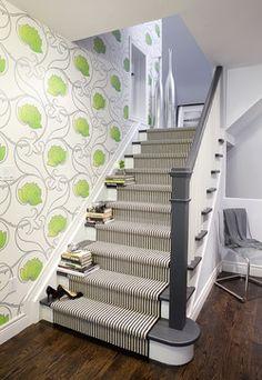 Entry - Staircase - contemporary - staircase - toronto - Leslie Goodwin Photography