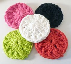 Wholesale SAMPLER Set  Hearts Rounds and Flowers by SamsCrochet, $16.00