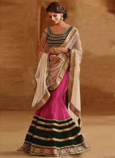 http://www.sareesaga.in/index.php?route=product/product&product_id=29321 Work:Embroidered Patch Border Work Style:A - Line Lehenga Shipping Time:10 to 12 Days Occasion:Wedding Reception Fabric:Net Velvet Georgette Colour:Hot Pink For Inquiry Or Any Query Related To Product, Contact :- +91-72850 38915, +91-7405449283