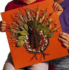Better Homes and Gardens turkey craft for kids
