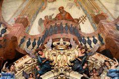 O papa negro- igreja de santa efigênia em ouro preto