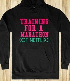 The only kinda marathon I'm interested in;) I love working out/exercise. I will run sprints all day long, but, man, do I despise distance running:/
