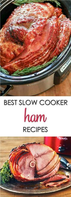 Take a hands off approach to your holiday dinner with these 20 Slow Cooker Ham Recipes. You'll find traditional recipes like easy slow cooker spiral ham to recipes that feature ham in other ways.These will be some of your favoriteEaster recipes. #itisakeeper #recipes #slowcooker #crockpot #easter