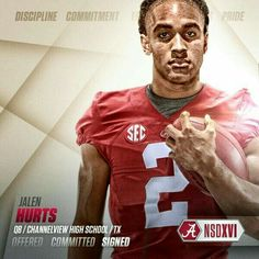 Gotta be something about the jersey. ❤️🏈🐘🅰2️⃣
