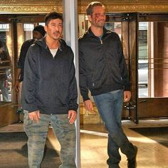 From The Set Of Brick Mansions #davidbelle #paulwalker #brickmansions #ForPaul #SeeYouAgain #TeamPW #WalkerFoundation - Paul Walker Turkey (@its.never.goodbye.pw)