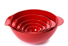 S/5 Assorted Mixing Bowls, Red... mind are pretty mix and matched, so this would be nice