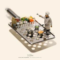 Miniature Art By Tatsuya Tanaka. Tatsuya Tanaka is a Japanese artist and Continue Reading and for more miniatures → View Website