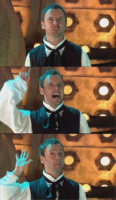 John Simm, best Master ever. Unless Rory is the Master, in which case John Simm is the second best :)