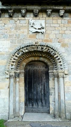 The Church of Saint John the Baptist Healaugh Yorkshire by woodytyke, via Flickr ~ Originally dedicated to St Helen, dates back to the 12th century