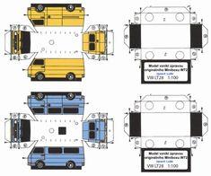 – Lu2ki – LT-Forum – Deutschland – Für Fans des VW Kastenwagen LT 28 habe ich nach ausgiebiger Suche einen Bastelbogen im Maßstab 1:100 ausfindig machen können. Auf www.LT-Forum.de ist ein Bastelbo...