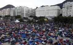 Veja imagens do encerramento da Jornada Mundial da Juventude, no Rio - Rio de Janeiro - iG