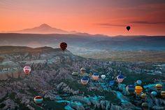 Sunset at Cappadocia, Turkey