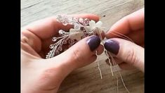 Свадебное украшение. Свадебное украшение ручной работы.Свадебный гребень...