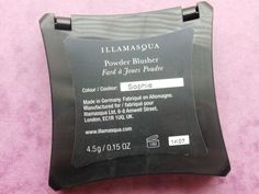 NEW POST! Review | Illamasqua Powder Blusher in Sophie #blog #bloggers #bbloggers #bbloggerspost #beauty #beautychat #beautybloggers #fblchat #tbloggers #illamasqua #sophie #blush #blusher #coral #gold #glitter #raspberrykiss #review #makeup #cosmetics