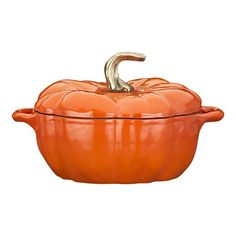 Staub Pumpkin Covered Casserole