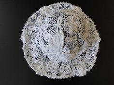 Rare Vintage Irish Crochet Hat