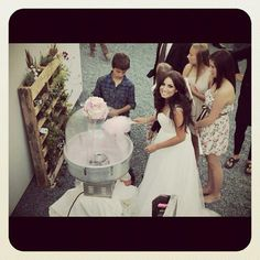 Cotton Candy Wedding <3