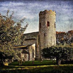 'St Margarets Church Burnham Norton' by IanWL Framed Prints, Canvas Prints, Art Prints, St Margaret, Burnham, Church Building, Norfolk, Art Boards, Buildings