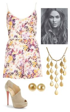 Untitled #113 by h-akther on Polyvore featuring River Island, Christian Louboutin, John Hardy and Chanel