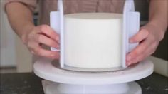 How To Cover A Polystyrene Cake Dummy Without Buttercream