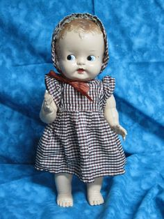 Ideal doll Baby Mine 1940's