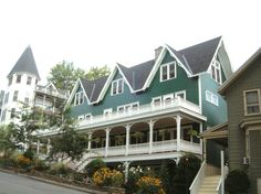 Chautauqua Institution - Beautiful Buildings - 19 Simpson Avenue - Lake Front Cottage; Lakeside Lodge (circa 1895) - more photos and info at Chautauqua History and Archives  http://chautauqua.pastperfect-online.com/34268cgi/mweb.exe?request=record;id=7FA1874E-9A35-4F46-93C8-270360987927;type=301
