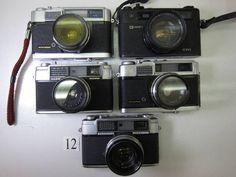 FC7LA ヤシカ YASHICA minister等 フィルムカメラ5台 ジャンク_画像1