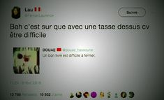 Twitter, source inépuisable de lol. Love Memes Funny, New Years Eve Party, Lol, Twitter, Laughing