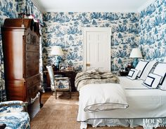 Traditional Bedroom in Long Island, New York