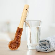 Online shopping for eco-friendly products with free worldwide shipping Hair Fixing, Body Brushing, Coir, Brush Cleaner, Wooden Handles, Sustainable Living, Eco Friendly, Fiber, Coconut