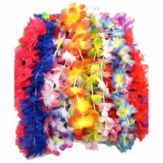 Deluxe Luau Lei Assortment For 50