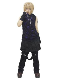 DAMAGE Stole Black x Purple. #punkfashion #Gothic #Deorart See more at: http://www.cdjapan.co.jp/apparel/deorart.html