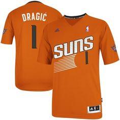 adidas Goran Dragic Phoenix Suns 2013 New Logo Revolution 30 Alternate Swingman Jersey - Orange