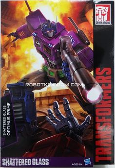 Masterpiece Shattered Glass Optimus Prime - New Gallery Of Asia-Exclusive MP-10 Recolor Including Alex Milne Package Art