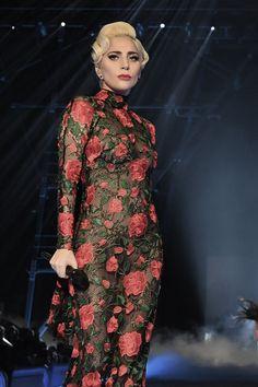 Lady Gaga Wore Everything at the 2016 Victoria's Secret Fashion Show   Tom + Lorenzo