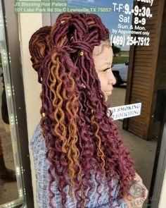 Faux Locs, Dreadlocks, Hair Styles, Crochet, Cute, Beauty, Hair Plait Styles, Extensions, Crochet Crop Top