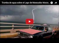 Tromba de Agua pasando sobre el puente del Lago de Maracaibo  http://www.facebook.com/pages/p/584631925064466