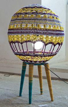 Scarfty Lamp By Decorkuznetsov | Http://www.designrulz.com/product