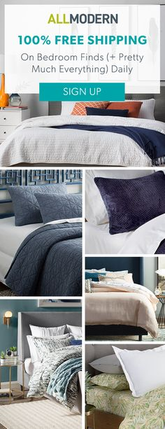Bedding - Sign up now for FREE SHIPPING on orders over $49 at allmodern.com!
