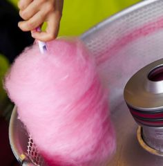 Cotton candy: Usually finding this sweet treat means you're at an amusement park
