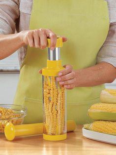 Deluxe Corn Stripper - Corn on the Cob Stripperand Corn Kernel Remover | Solutions