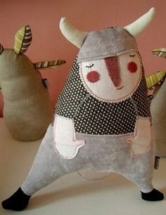 Herzensart Viking doll