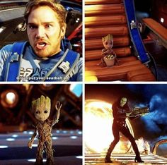 """Guardians of the Galaxy Vol. 2 ---this movie is basically just gonna be """"The Adventures of Groot and His Parents"""" Funny Marvel Memes, Marvel Jokes, Dc Memes, Movie Memes, Marvel Comics, Marvel Heroes, Marvel Avengers, Funny Avengers, Marvel Universe"""