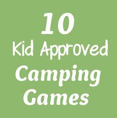 kid friendly camping activities