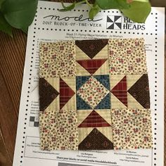 quilts and more: Moda BlockHeads Week 21 Flying Geese Variation by Jo Morton Quilt Square Patterns, Patchwork Quilt Patterns, Pattern Blocks, Square Quilt, Quilt Patterns Free, Crazy Patchwork, Quilting Tutorials, Quilting Projects, Quilting Designs