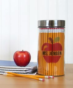 I love this container for pencils! We carry jars like this at TJ Maxx for cheap... need to pick some up now. Silhouette Blog: New Silhouette Products Coming Soon...