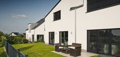 Einfach schön anzusehen, die abgestimmte Qualität individueller Häuser und Bewohner. © C. Pforr.