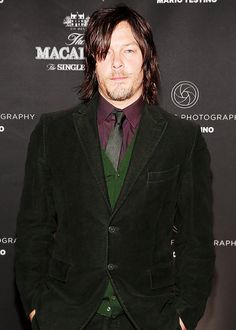 """"""" Norman Reedus attends the Macallan Masters of Photography: Mario Testino Edition Launch Event on December 3, 2014. """""""